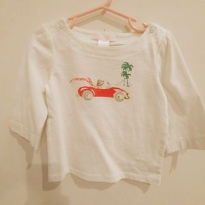 Toddler's Janie and Jack 3/4 Sleeves Shirt